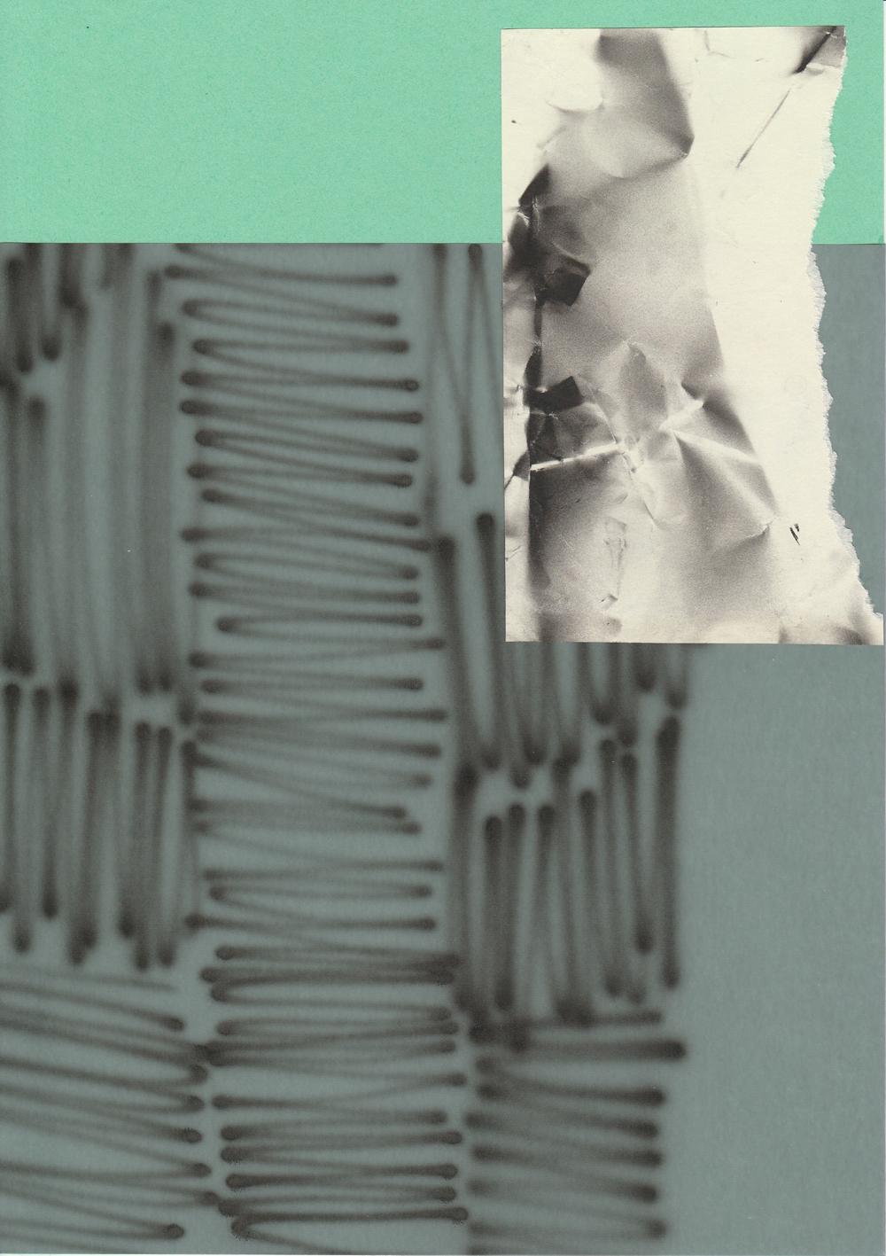Rita Koszorús – Zo série SchMerzbild / Collage, 2019